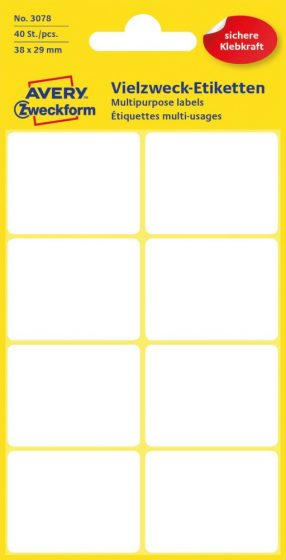 Avery Zweckform 3078 öntapadó etikett címke