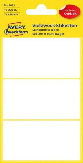 Avery Zweckform 3081 öntapadó etikett címke