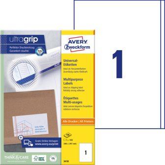 Avery Zweckform 3418 öntapadós etikett címke