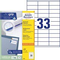 Avery Zweckform 3421 öntapadós etikett címke