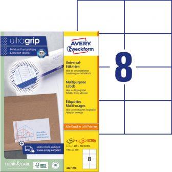 Avery Zweckform 3427-200 öntapadós etikett címke