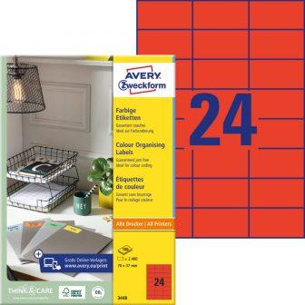 Avery Zweckform 3448 öntapadós etikett címke