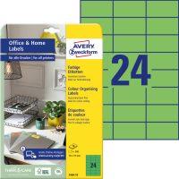 Avery Zweckform 3450-10 öntapadós etikett címke