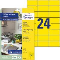 Avery Zweckform 3451-10 öntapadós etikett címke