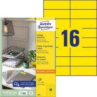 Avery Zweckform 3455 öntapadós etikett címke