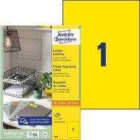 Avery Zweckform 3473 öntapadós etikett címke