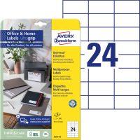 Avery Zweckform 3474-10 öntapadós etikett címke