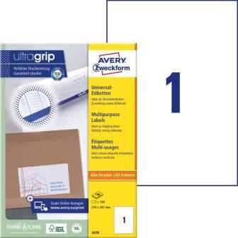 Avery Zweckform 3478 öntapadó etikett címke