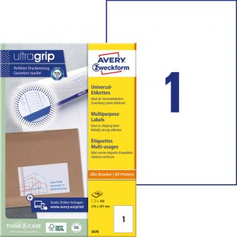 Avery Zweckform 3478 öntapadós etikett címke