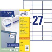 Avery Zweckform 3479 öntapadós etikett címke