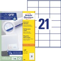 Avery Zweckform 3481 öntapadós etikett címke