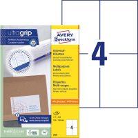 Avery Zweckform 3483 öntapadós etikett címke