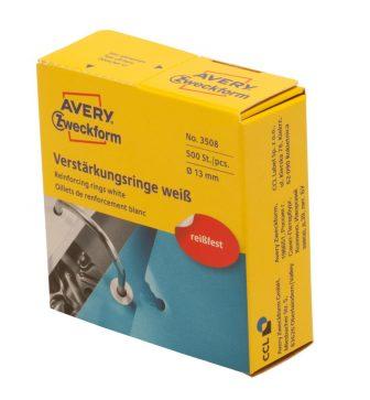 Avery Zweckform 3508 öntapadó lyukerősítő gyűrű