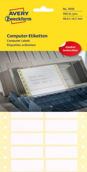 Avery Zweckform 3606 öntapadó etikett címke