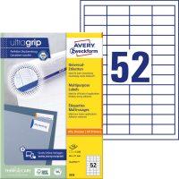 Avery Zweckform 3650 öntapadós etikett címke