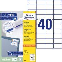 Avery Zweckform 3651 öntapadós etikett címke