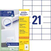 Avery Zweckform 3652-200 öntapadós etikett címke
