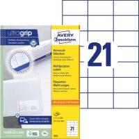 Avery Zweckform 3652 öntapadós etikett címke
