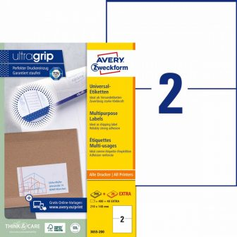 Avery Zweckform 3655-200 öntapadós etikett címke