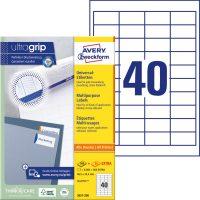 Avery Zweckform 3657 öntapadós etikett címke
