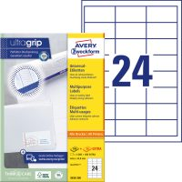 Avery Zweckform 3658-200 öntapadós etikett címke
