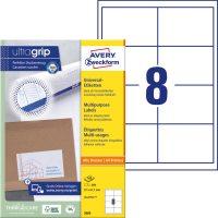 Avery Zweckform 3660 öntapadós etikett címke