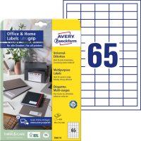 Avery Zweckform 3666-10 öntapadós etikett címke