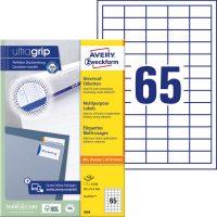 Avery Zweckform 3666 öntapadós etikett címke