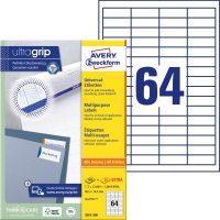 Avery Zweckform 3667-200 öntapadós etikett címke