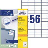 Avery Zweckform 3668 öntapadós etikett címke