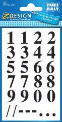 Avery 3724 öntapadó számmatrica