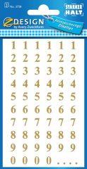 Avery 3728 öntapadó számmatrica