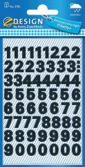 Avery 3781 öntapadó számmatrica
