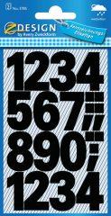 Avery 3785 öntapadó számmatrica