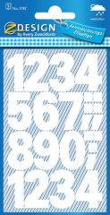 Avery 3787 öntapadó számmatrica