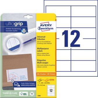 Avery Zweckform 4781 öntapadós etikett címke