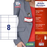 Avery Zweckform 4822 névkitűző készlet