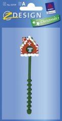 Avery Zweckform Z-Design No. 52739 karácsonyi ajándékcsomag gyorslezáró - mézeskalácsház figurás - kiszerelés: 1 darab / csomag (Avery Z-Design 52739)