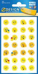 Avery Zweckform Z-Design No. 53133 öntapadó papír matrica napocskás motivációs képekkel.