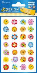 Avery Zweckform Z-Design No. 53137 öntapadó papír matrica virágfejek motivációs képekkel.