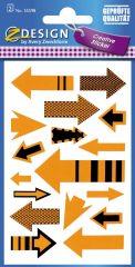 Avery Zweckform Z-Design No. 55598 öntapadó papír matrica nyilak képekkel.