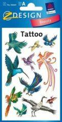 Avery Zweckform Z-Design No. 56660 tattoo (tetoválás) matrica madár motívumokkal - 1 ív / csomag (Avery Z-Design 56660)