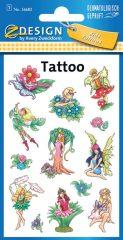 Avery Zweckform Z-Design No. 56682 öntapadó tetoválás matrica - erdei tündérek motívumokkal - kiszerelés: 1 ív / csomag (Avery Z-Design 56682)