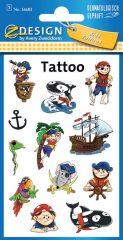 Avery Zweckform Z-Design No. 56683 öntapadó tetoválás matrica vicces kalózok motívumokkal.