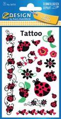 Avery Zweckform Z-Design No. 56735 öntapadó tetoválás matrica katicabogarak motívumokkal.