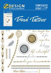 """Avery Zweckform Z-Design No. 56800 öntapadó tetoválás matrica """"Ethno"""" motívumokkal."""