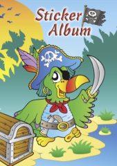 Avery Zweckform Z-Design No. 57799 A/5 -ös méretű matrica gyűjtő album az előlapon kalóz papagáj motívummal - 1 darab / csomag (Avery Z-Design 57799)