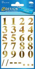 Avery 59128 öntapadó számmatrica