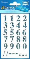 Avery 59159 öntapadó számmatrica