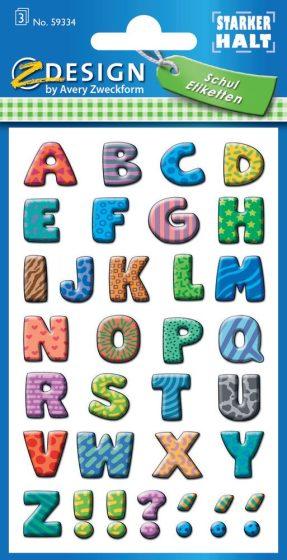 Avery 59334 öntapadó betűmatrica